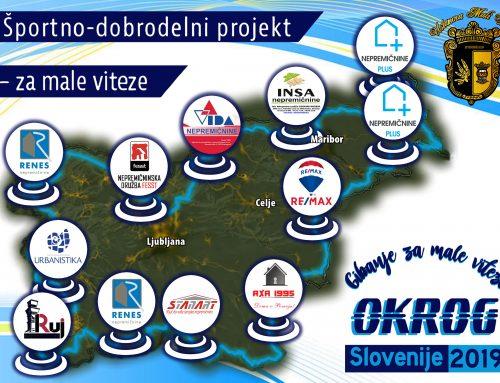 Donacije nepremičninskih podjetij širom Slovenije